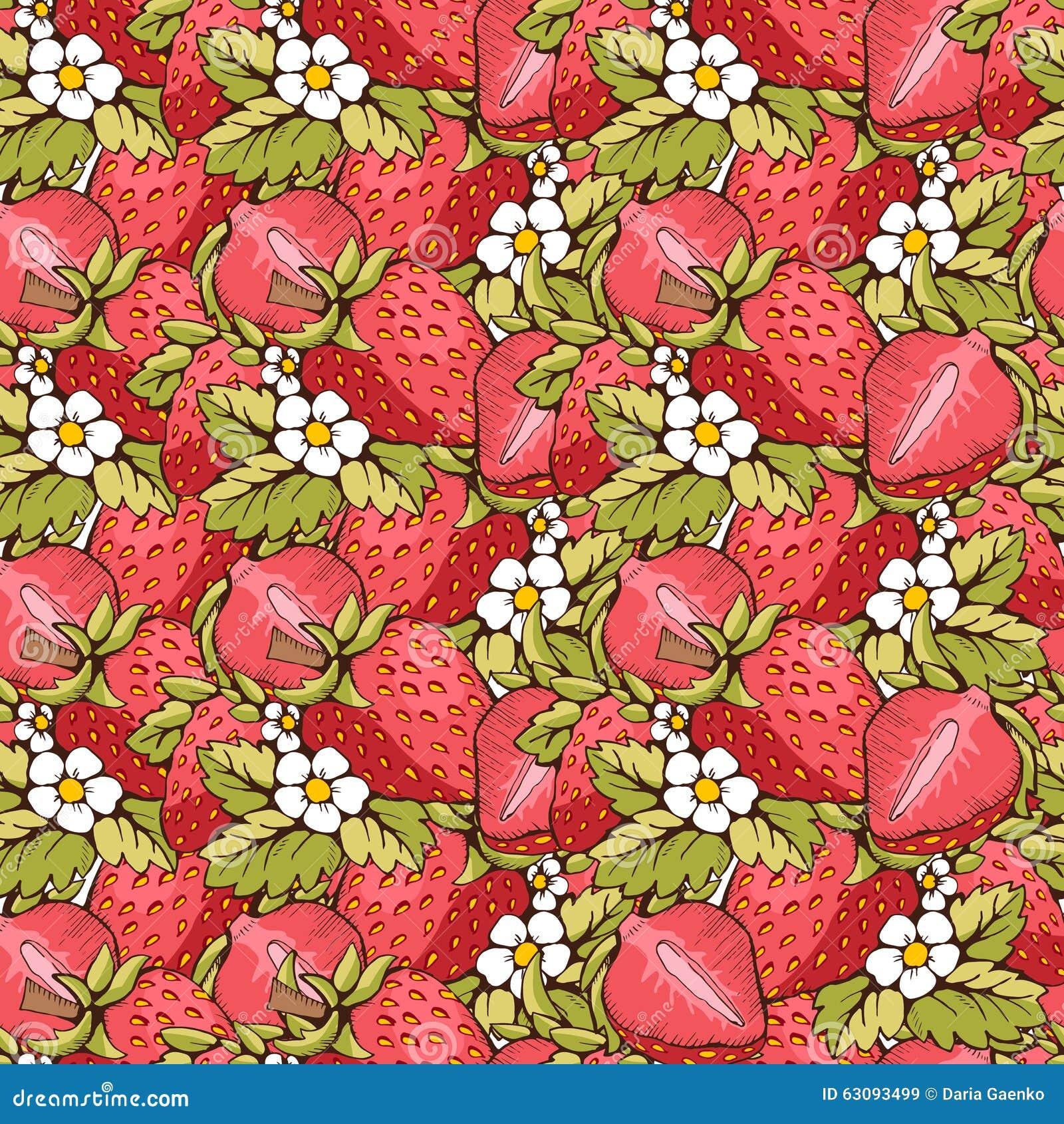 άνευ ραφής φράουλα