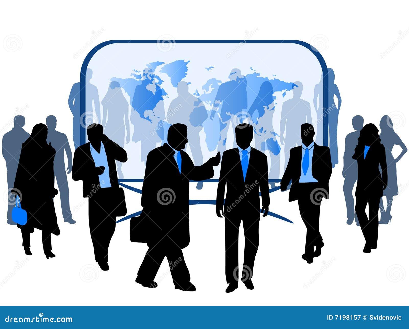 άνθρωποι επιχειρησιακών &chi