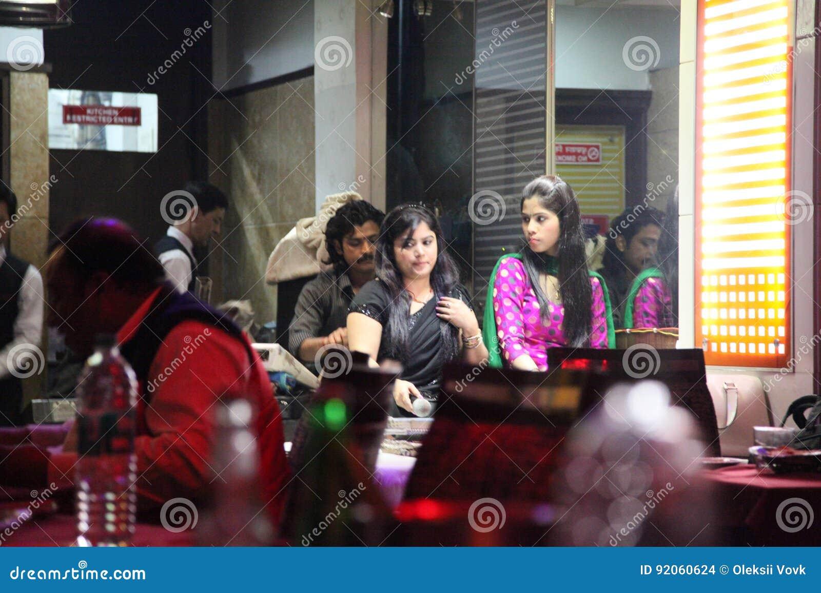 Άνθρωποι στις οδούς, Ahmedabad, Ινδία 2013
