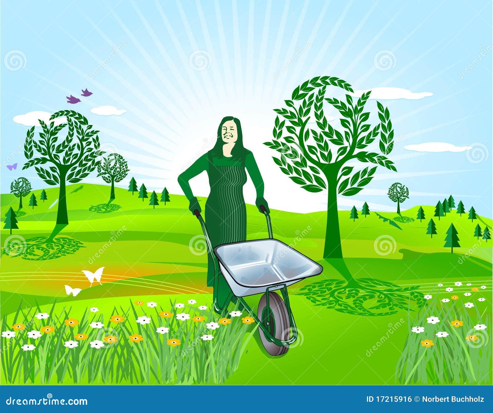 άνοιξη κηπουρικής
