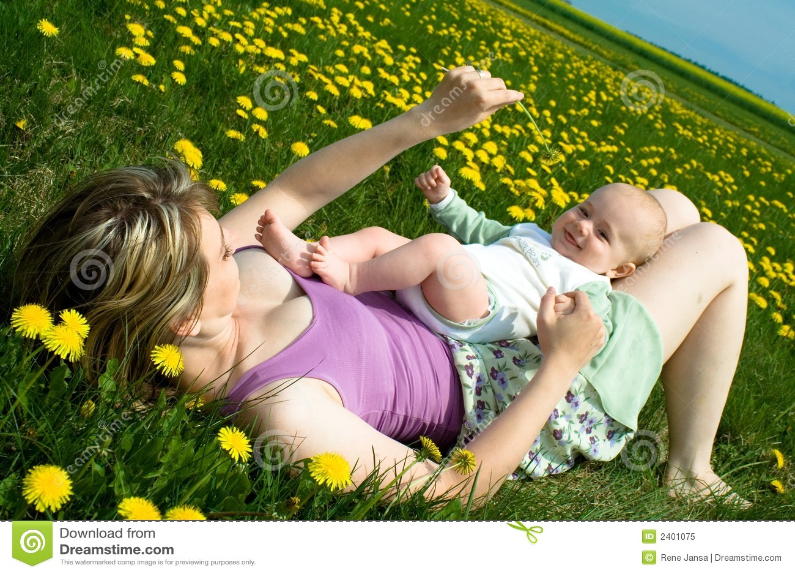 άνοιξη μωρών