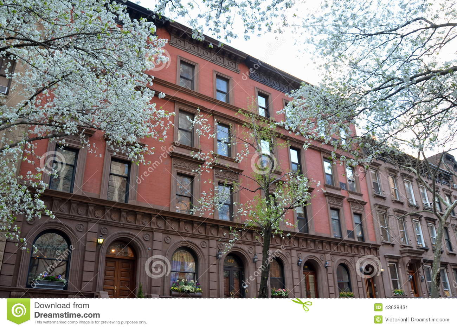 Άνοιξη στην πόλη της Νέας Υόρκης, ΗΠΑ