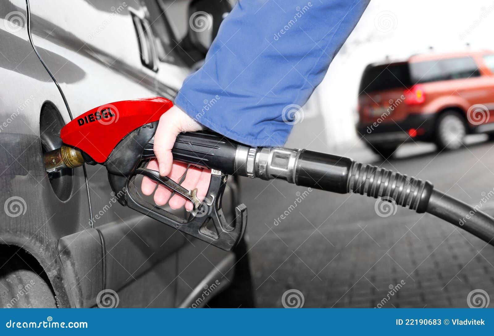 άντληση βενζίνης οδηγών