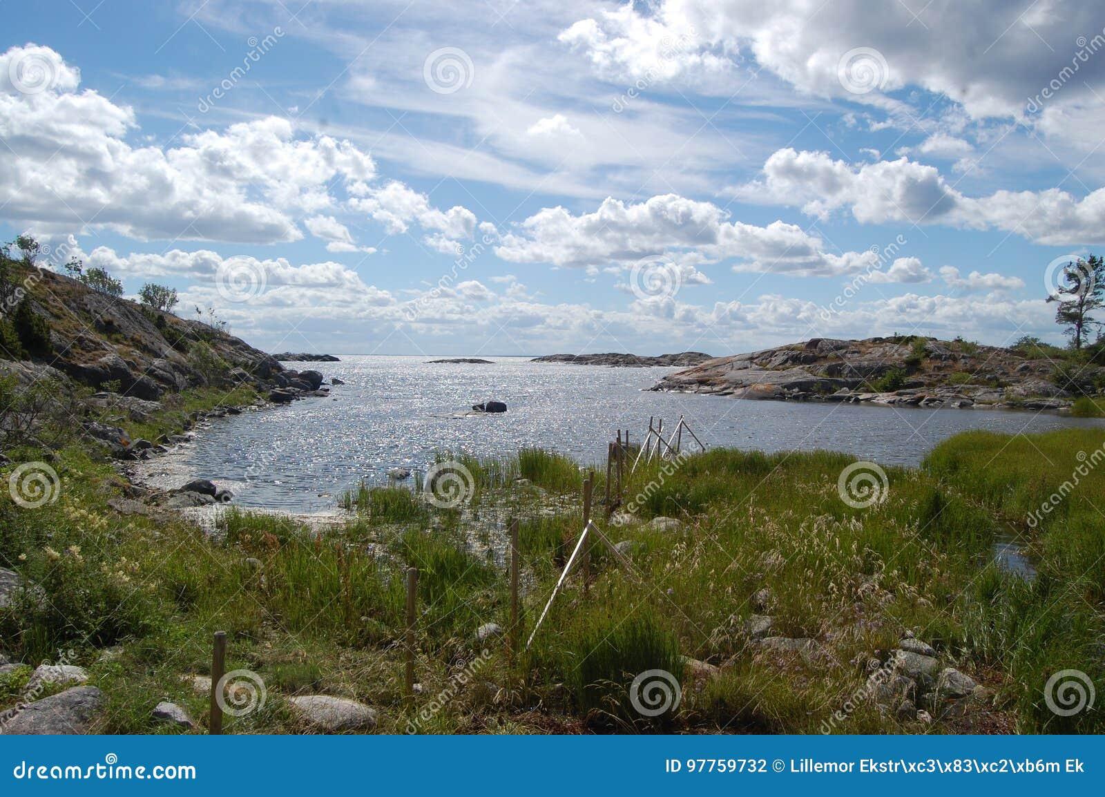 Άποψη από το νησί, Häradsskär