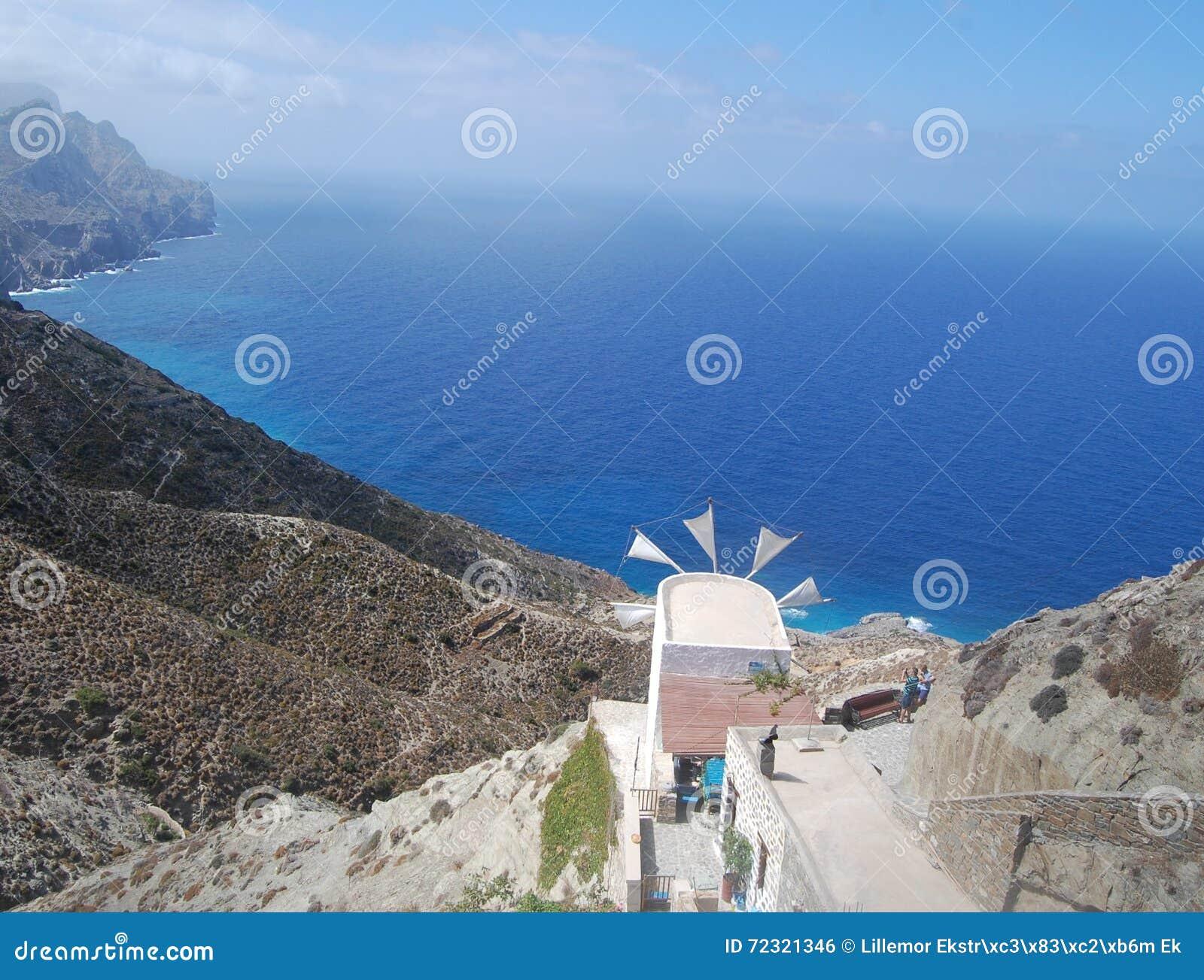 Άποψη από το χωριό Olympus