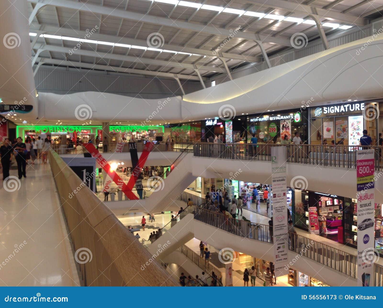Download Άποψη λεωφόρων αγορών εκδοτική στοκ εικόνες. εικόνα από αγορές - 56556173