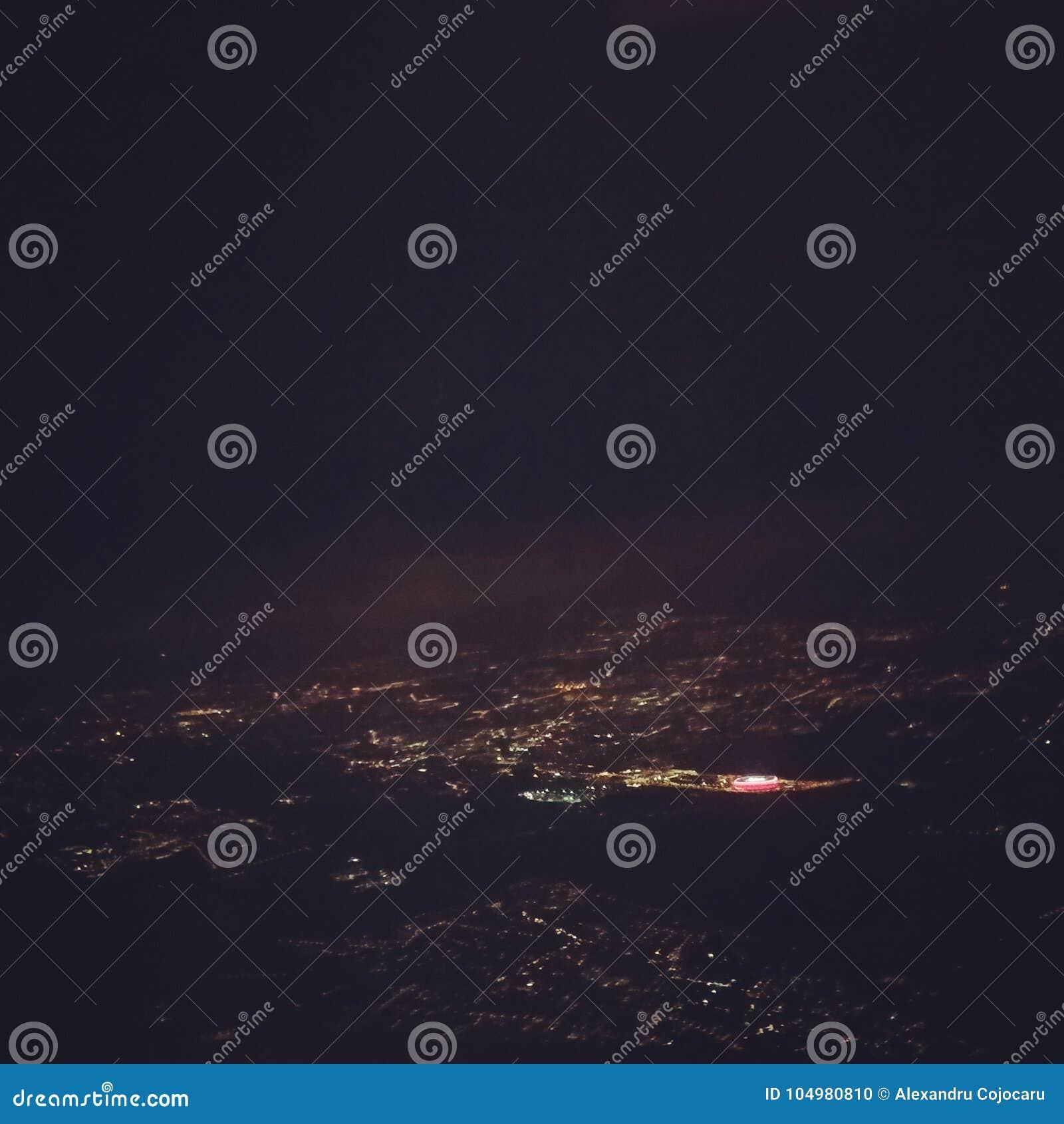 Άποψη νύχτας του Μόναχου