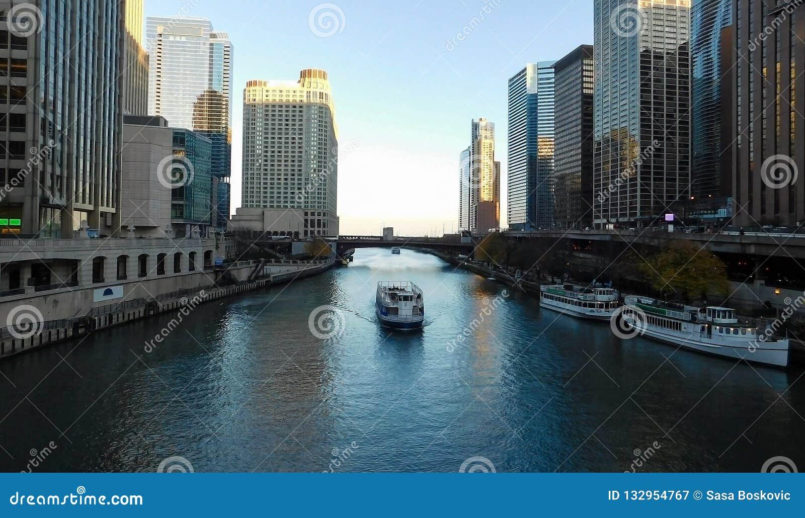 Άποψη ποταμών του Σικάγου