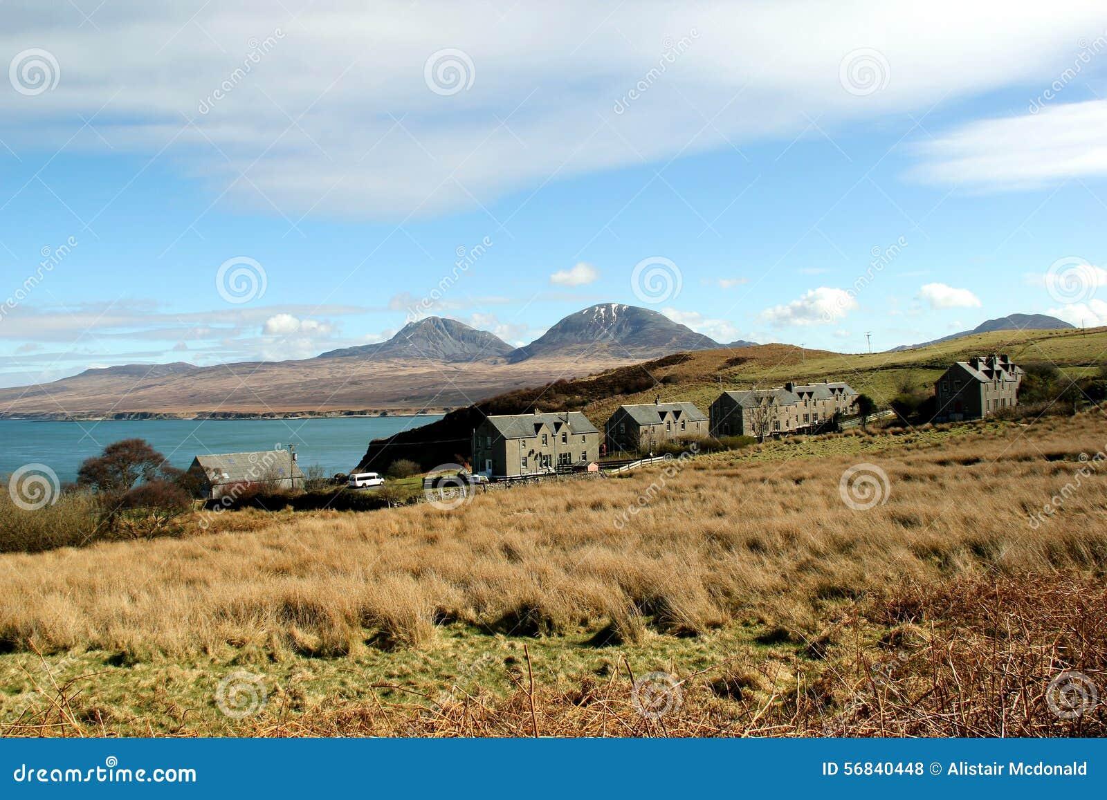 Άποψη προς Jura από Bunnahabhain, Islay, Σκωτία