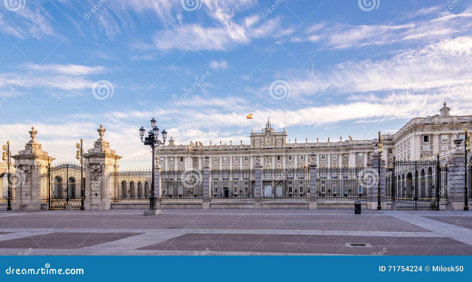 Άποψη στη Royal Palace της Μαδρίτης