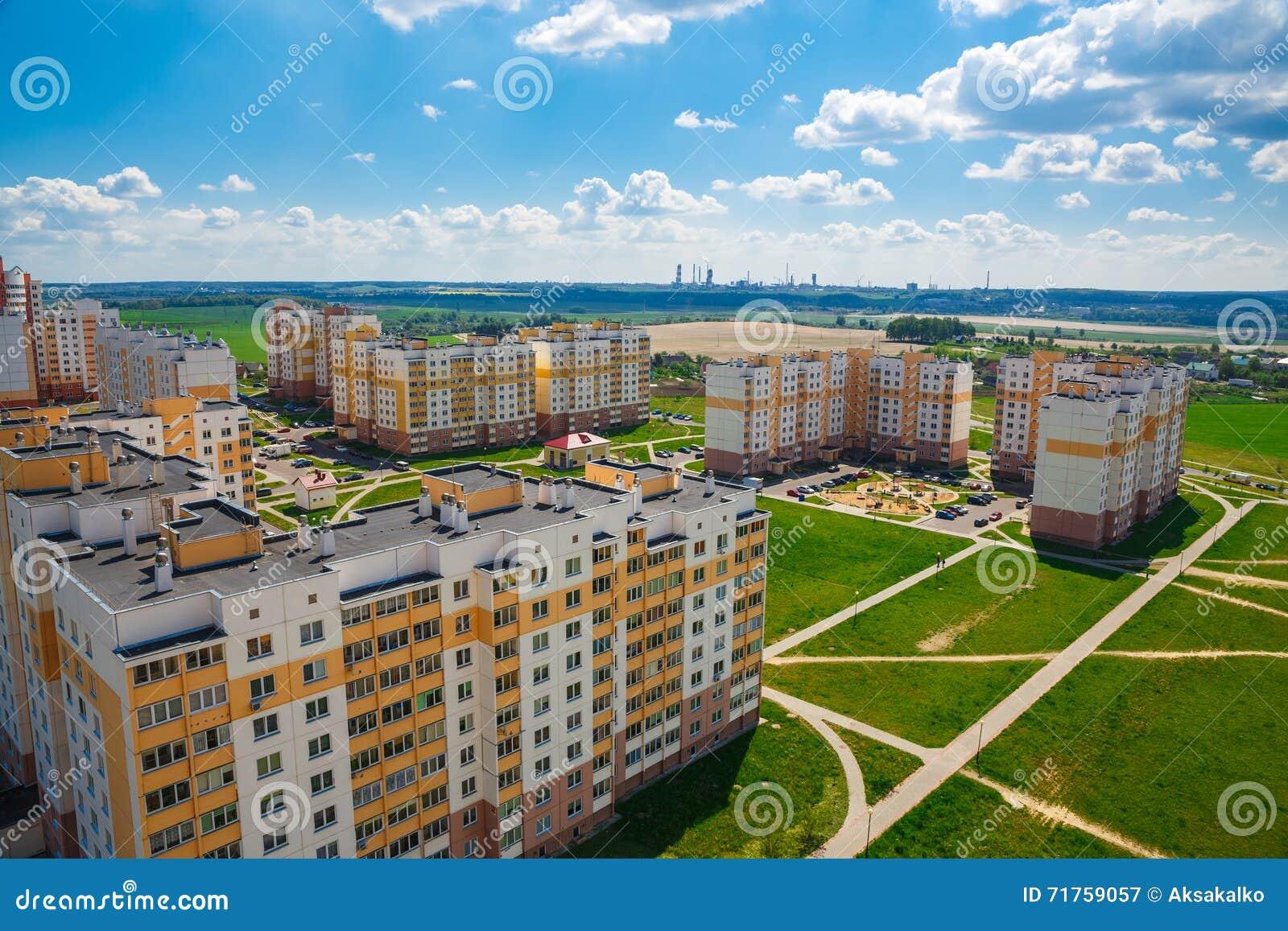 Άποψη της κατοικημένης περιοχής