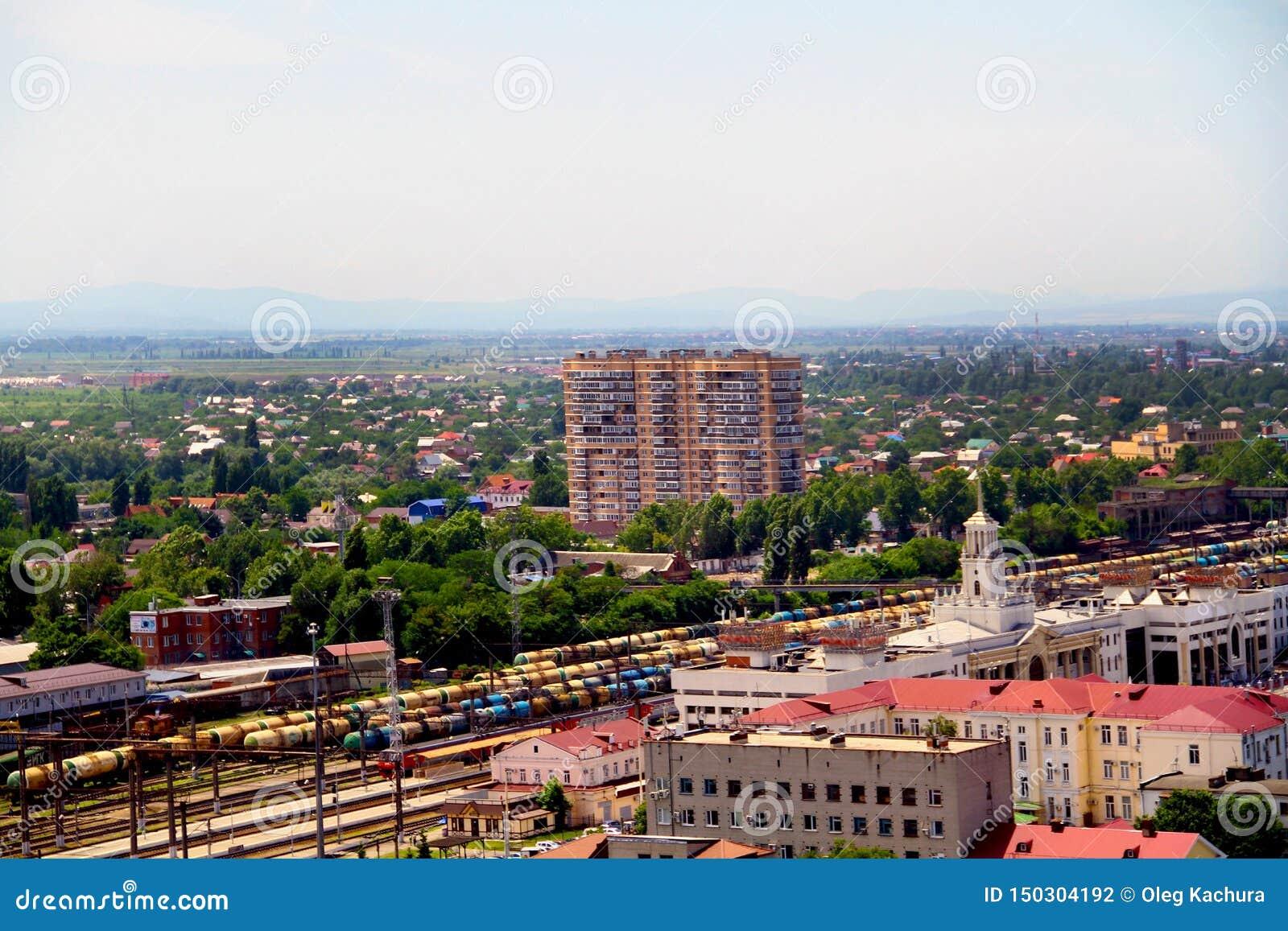 άποψη της πόλης Krasnodar