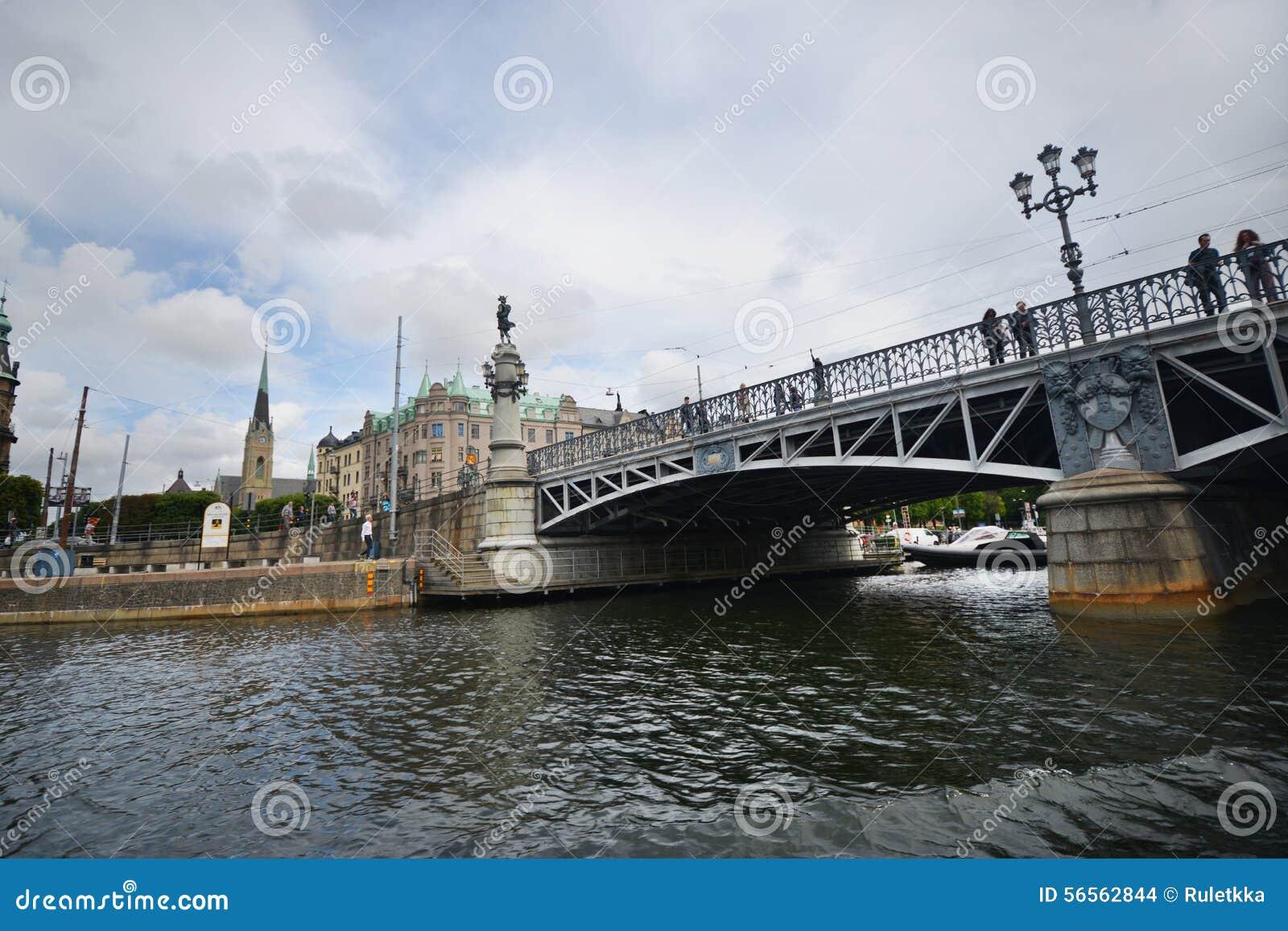Download άποψη της πόλης της Στοκχόλμης, Σουηδία Εκδοτική Στοκ Εικόνα - εικόνα από κεφάλαιο, προγεφυρωμάτων: 56562844