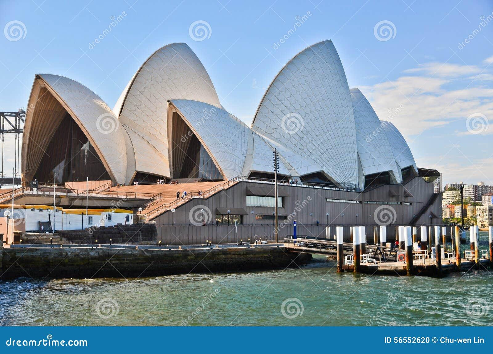 Download Άποψη της Όπερας του Σίδνεϊ Εκδοτική εικόνα - εικόνα από πόλη, μητρόπολη: 56552620
