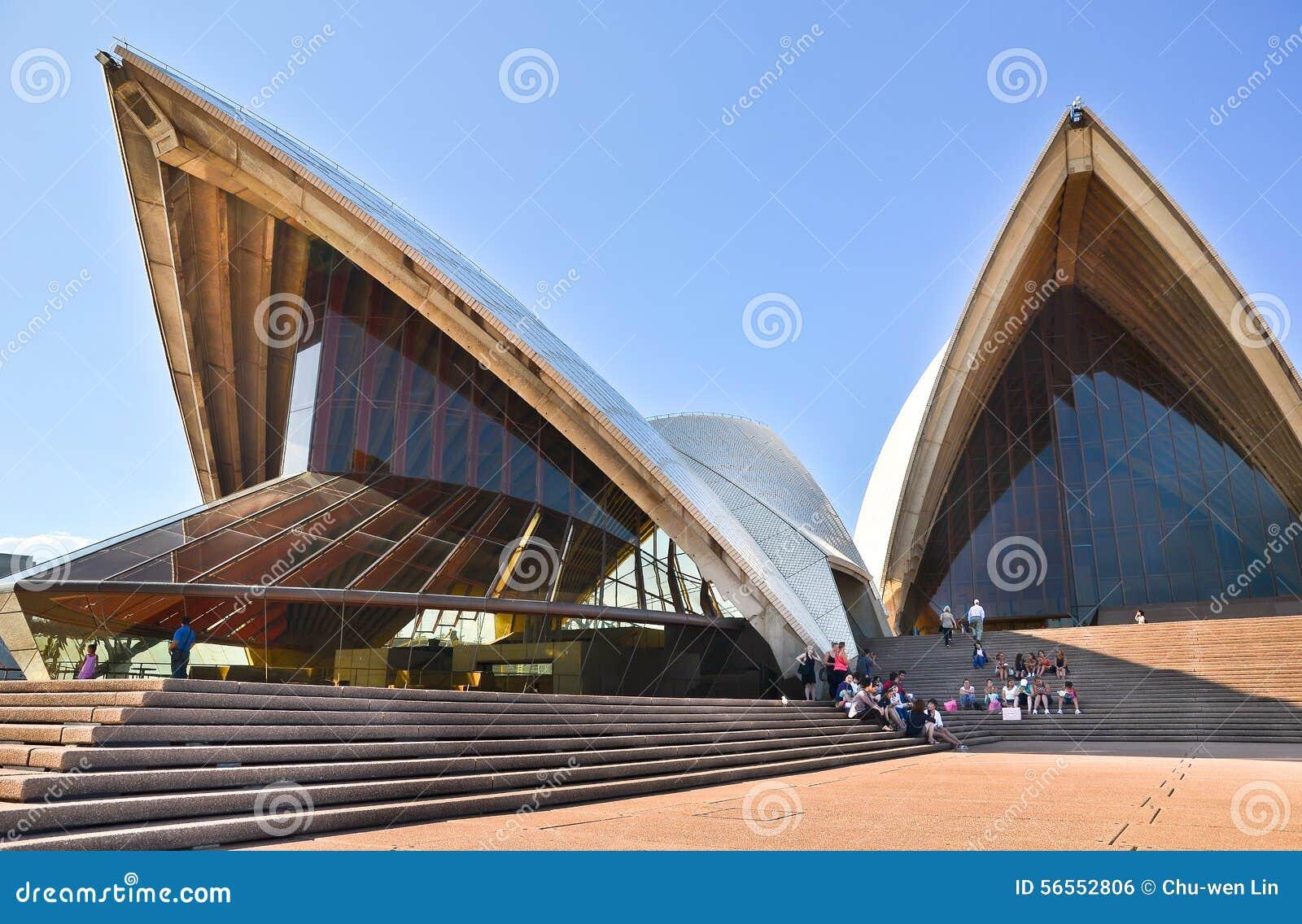 Download Άποψη της Όπερας του Σίδνεϊ Εκδοτική Εικόνες - εικόνα από αποβάθρα, εικονικός: 56552806
