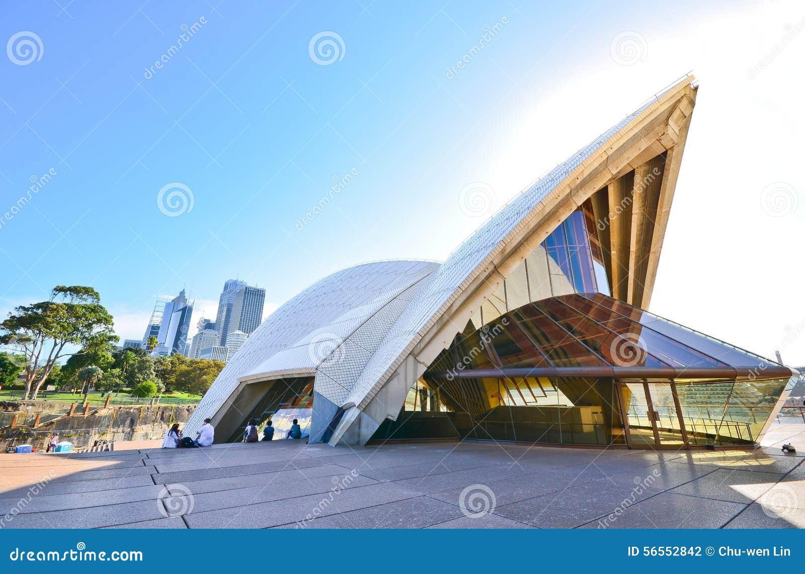 Download Άποψη της Όπερας του Σίδνεϊ Εκδοτική Φωτογραφία - εικόνα από αρχιτεκτονικής, σύγχρονος: 56552842