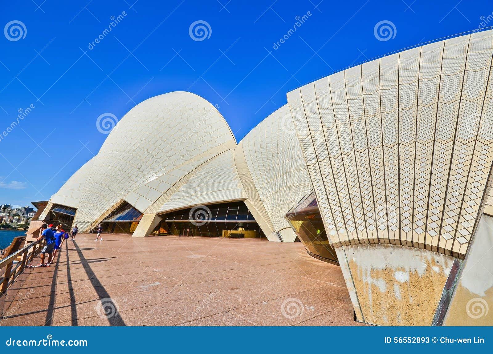 Download Άποψη της Όπερας του Σίδνεϊ Εκδοτική Στοκ Εικόνες - εικόνα από σκιά, εικονίδιο: 56552893