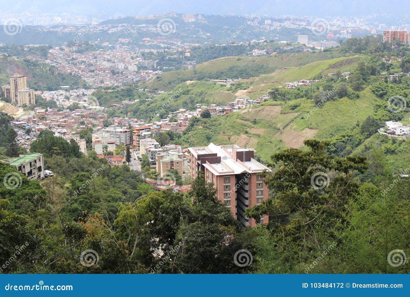 Άποψη του Καράκας από το νοτιοανατολικό σημείο