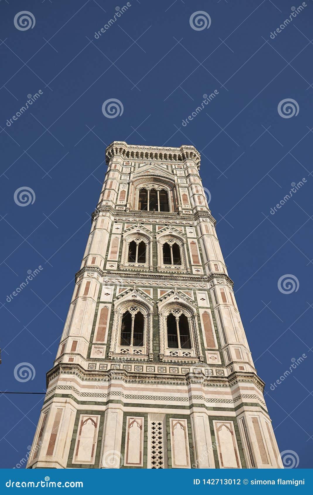 Άποψη του πύργου κουδουνιών Giotto