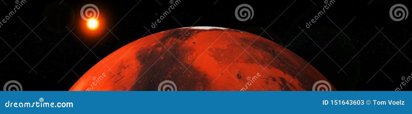Άρης και γη, πλανήτες του ηλιακού συστήματος
