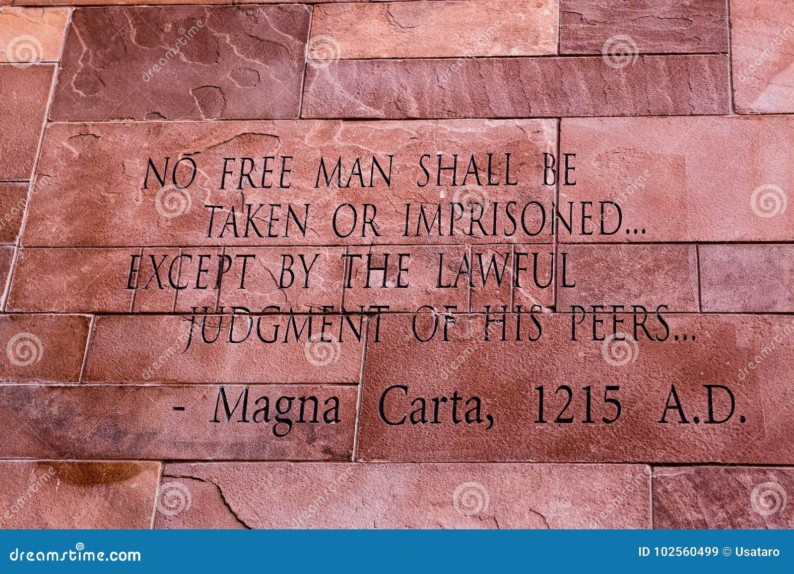 Άρθρο του κειμένου Magna Carta
