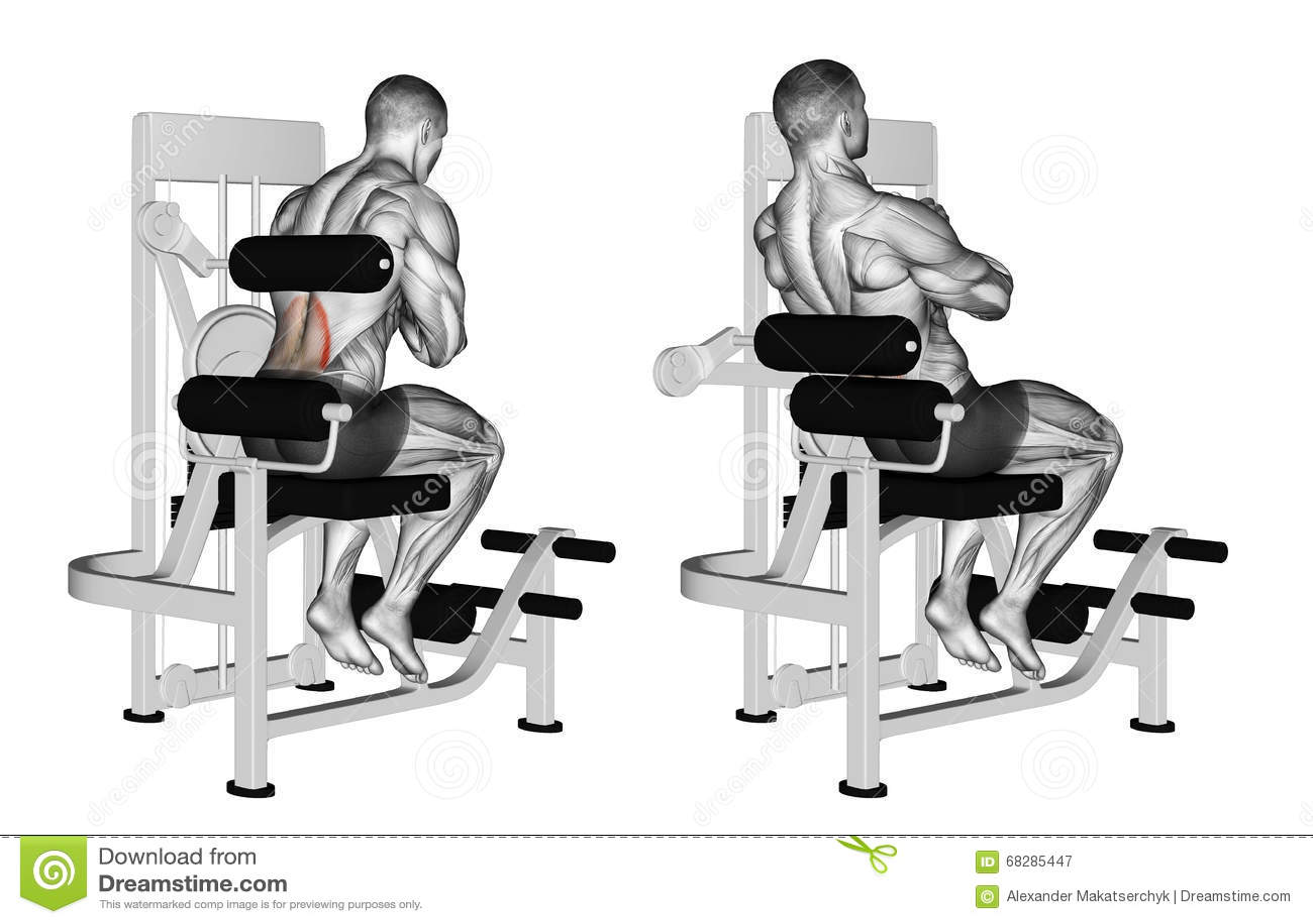 άσκηση Πίσω μηχανή επέκτασης
