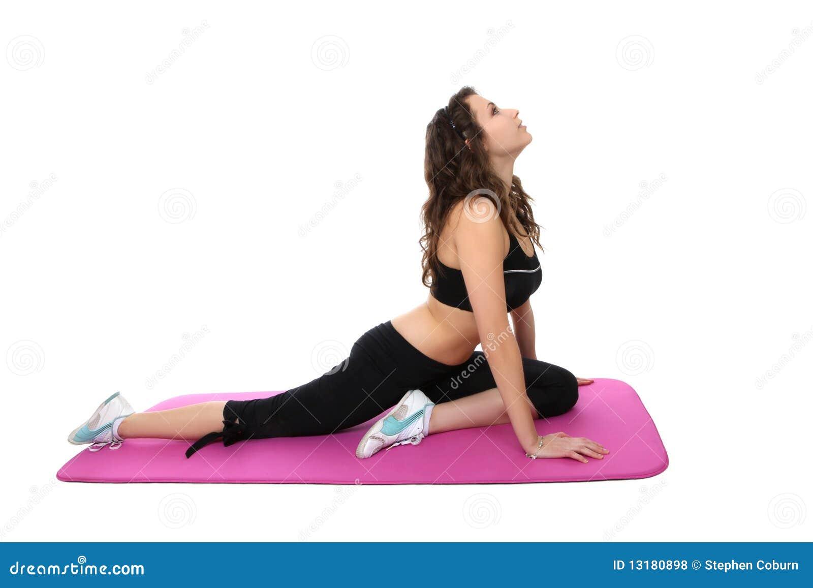 άσκηση της γυναίκας ικανό&t