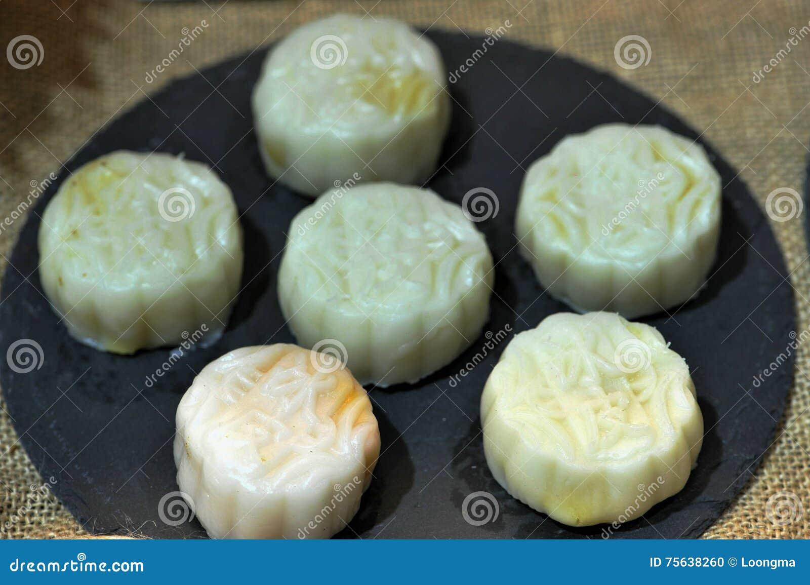 Άσπρα mooncakes