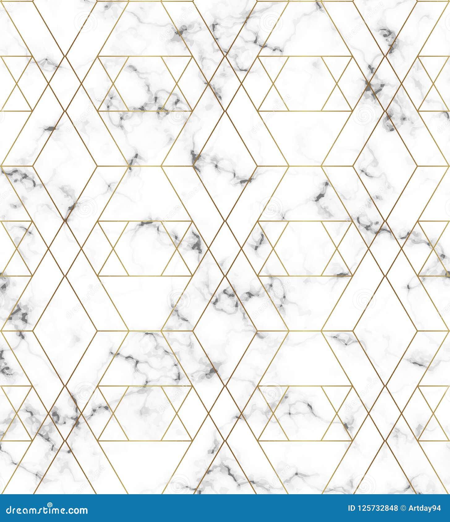 Άσπρη μαρμάρινη σύσταση με το χρυσό σχέδιο γραμμών Υπόβαθρο για τα σχέδια, έμβλημα, κάρτα, ιπτάμενο, πρόσκληση, κόμμα, γενέθλια,