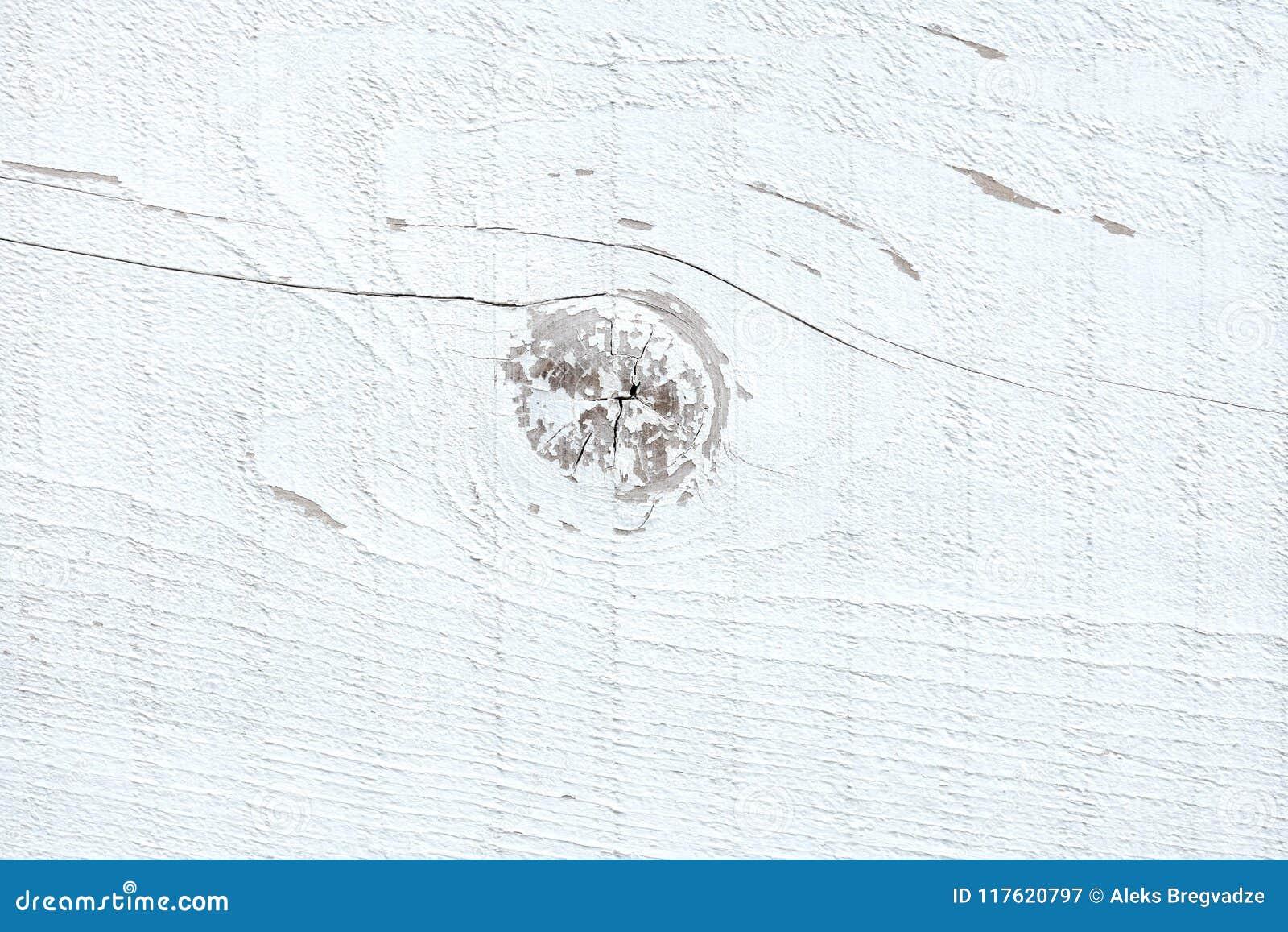 Άσπρη ξύλινη ανασκόπηση σύστασης