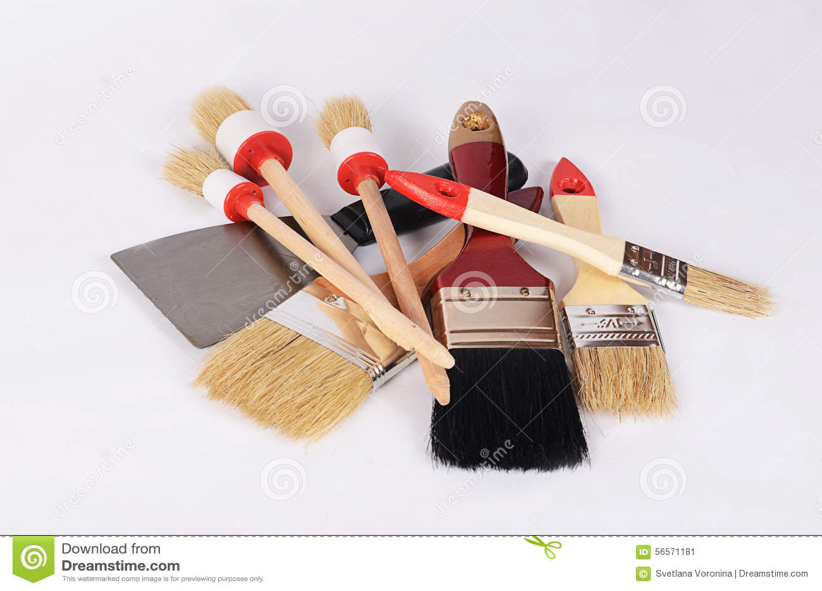 Download Άσπρισμα της βούρτσας ως υπόβαθρο Στοκ Εικόνα - εικόνα από ζωγραφική, παλέτα: 56571181