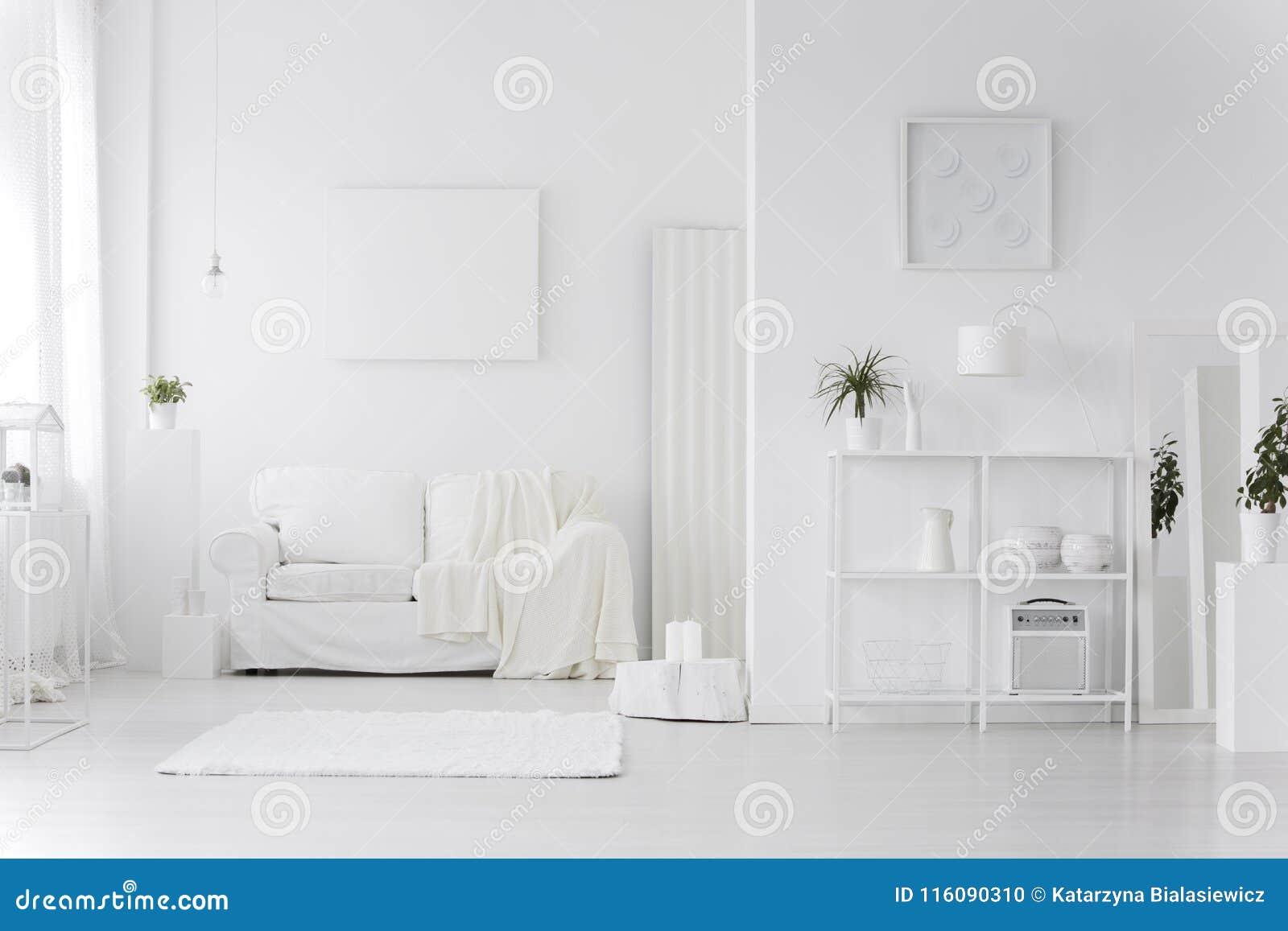 Άσπρο εσωτερικό καθιστικών