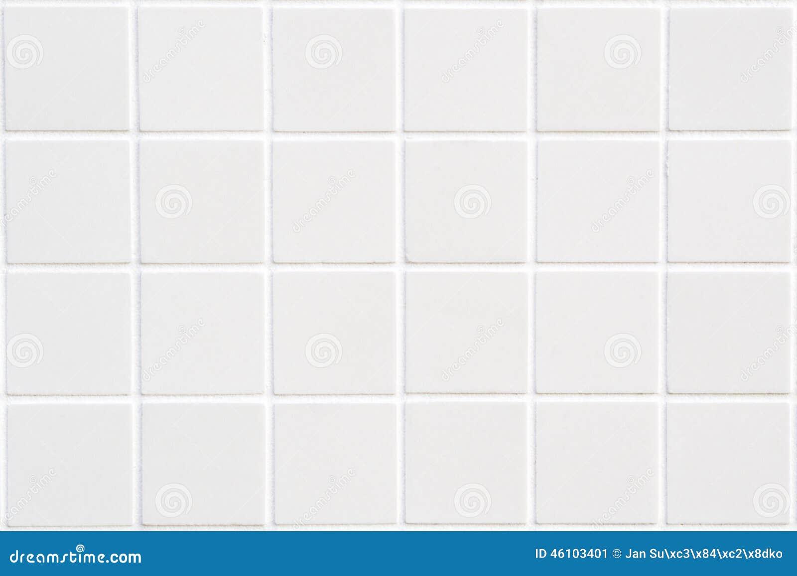 Άσπρο κεραμικό κεραμίδι με 24 τετράγωνα