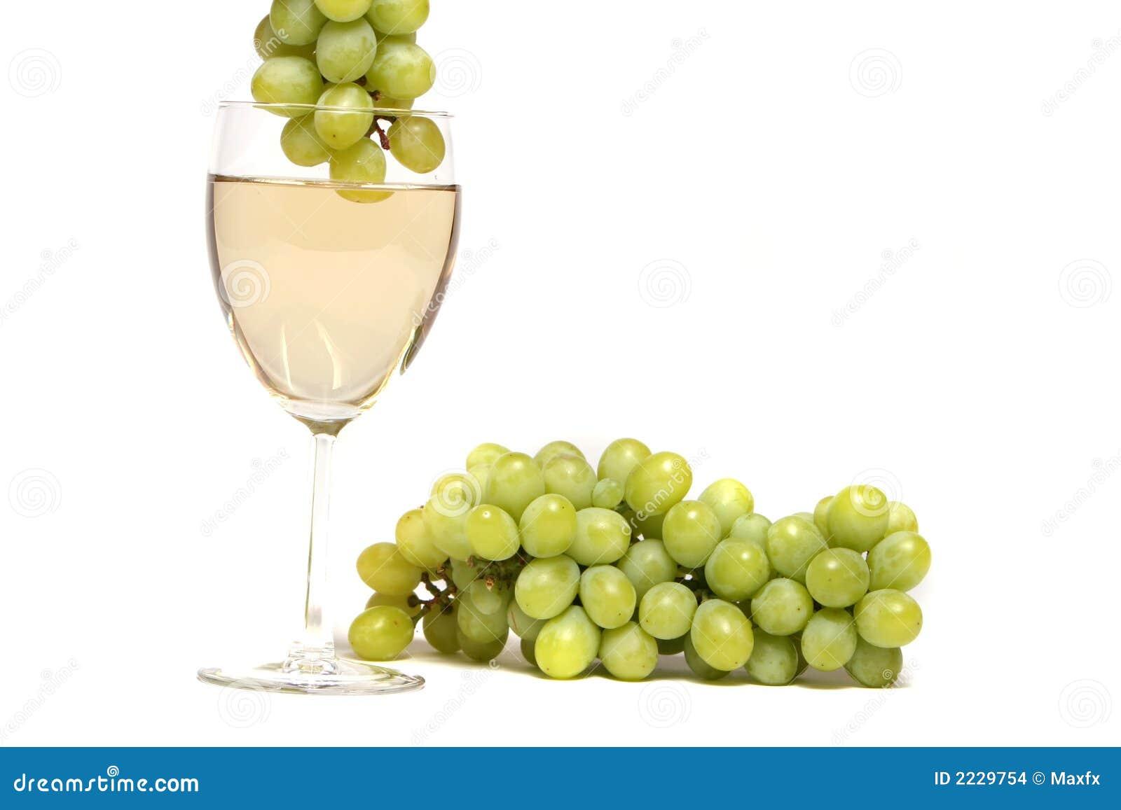 άσπρο κρασί σταφυλιών
