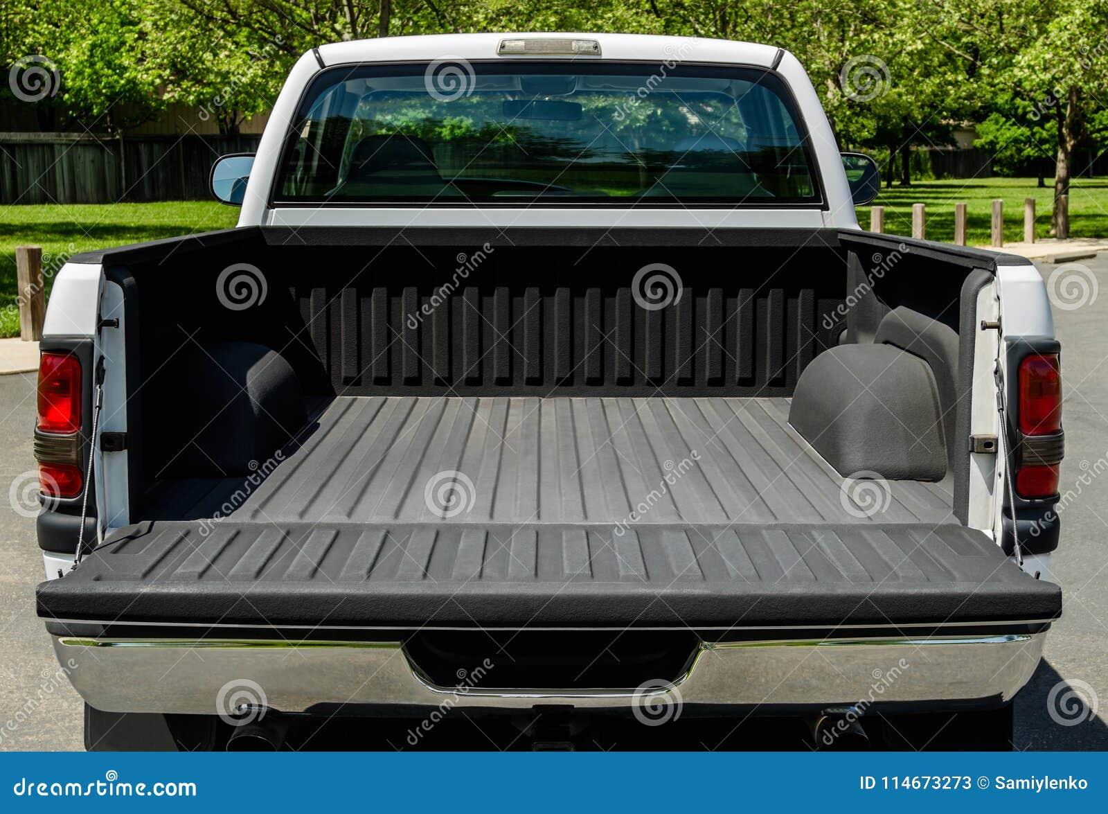 Άσπρο κρεβάτι φορτηγών