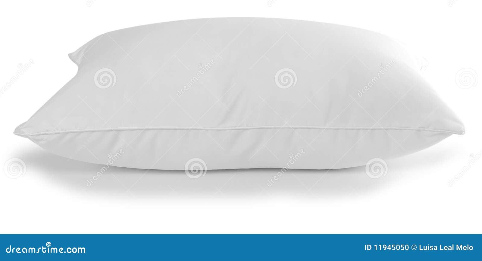 Άσπρο μαξιλάρι.