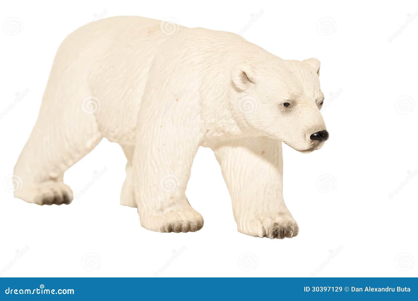 Άσπρο παιχνίδι πολικών αρκουδών