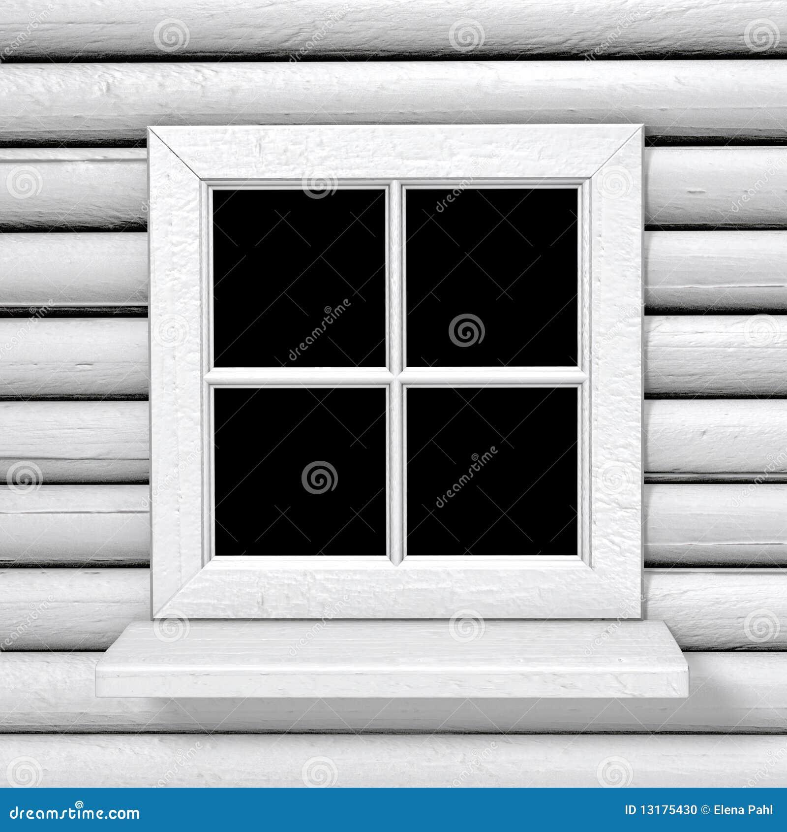 άσπρο παράθυρο ύφους χωρών