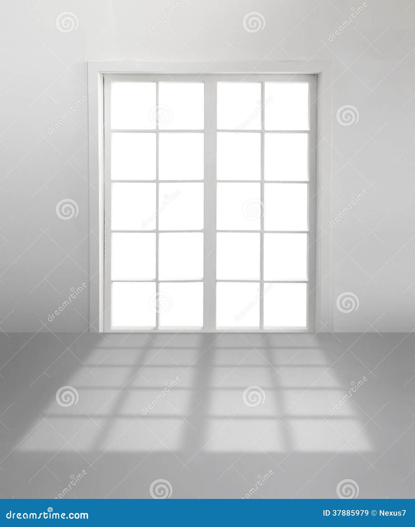 άσπρο παράθυρο