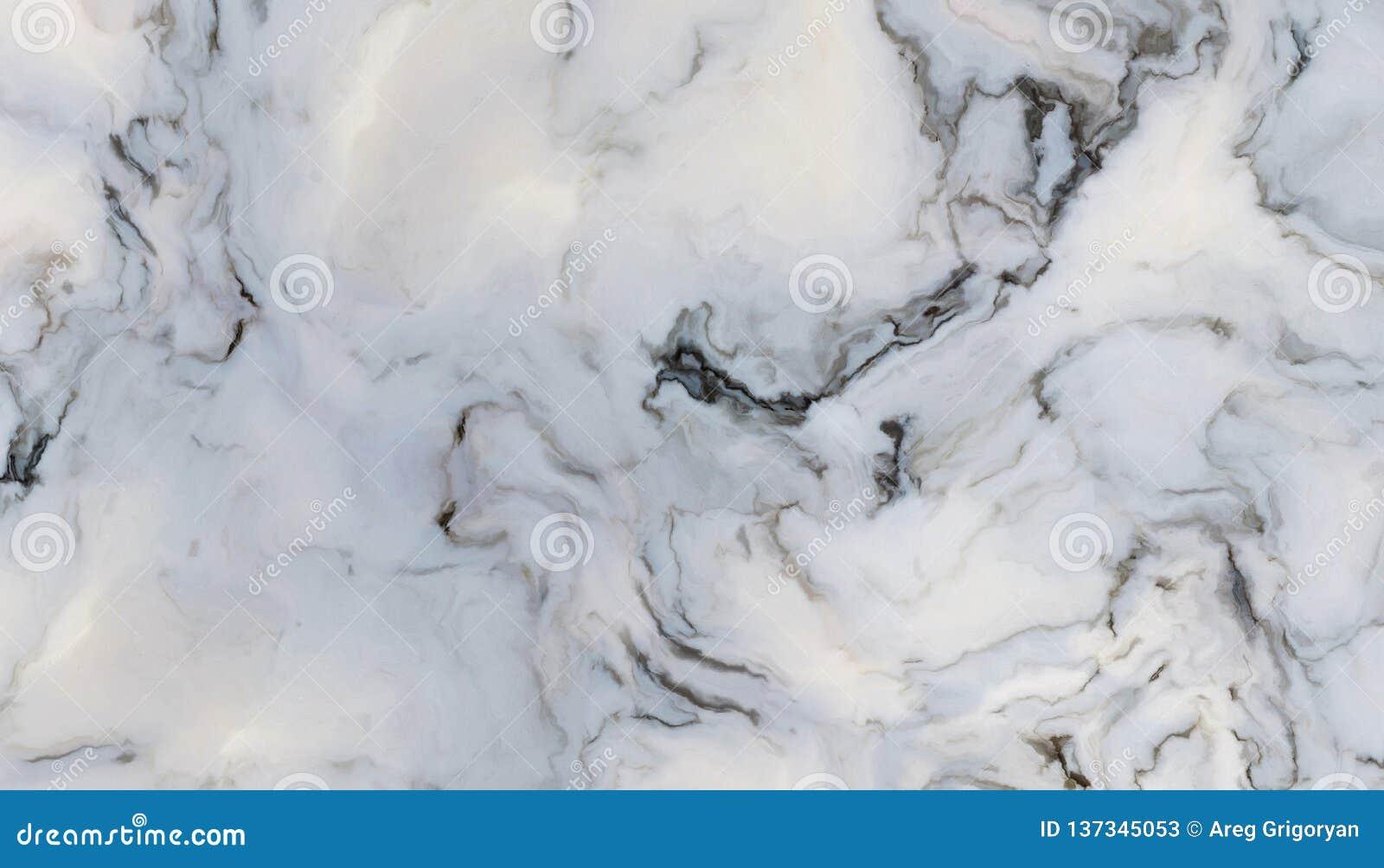 Άσπρο σγουρό μάρμαρο