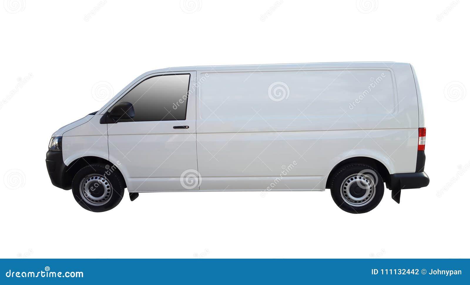 Άσπρο φορτηγό παράδοσης