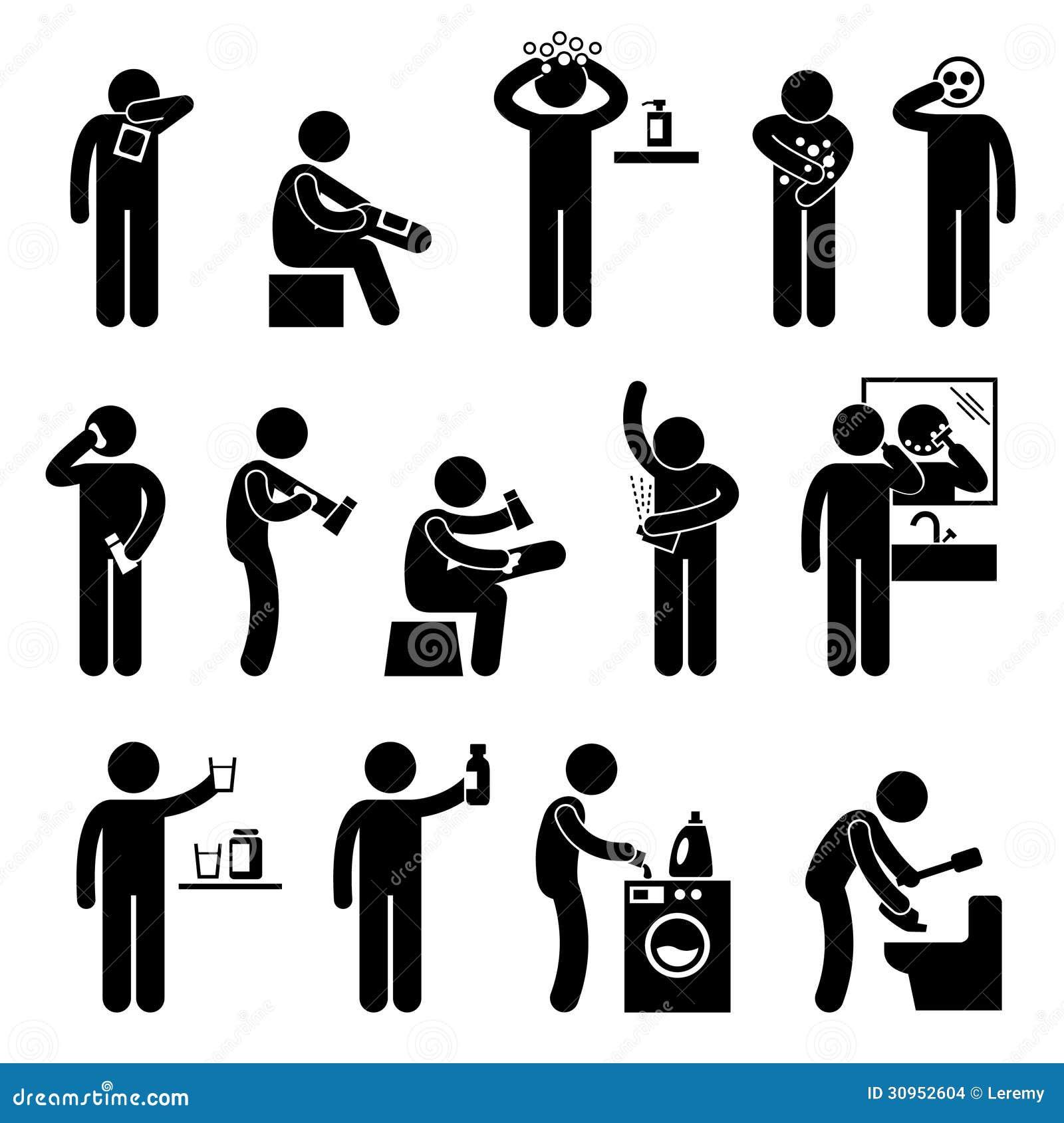 Άτομο που χρησιμοποιεί το εικονόγραμμα προϊόντων υγειονομικής περίθαλψης