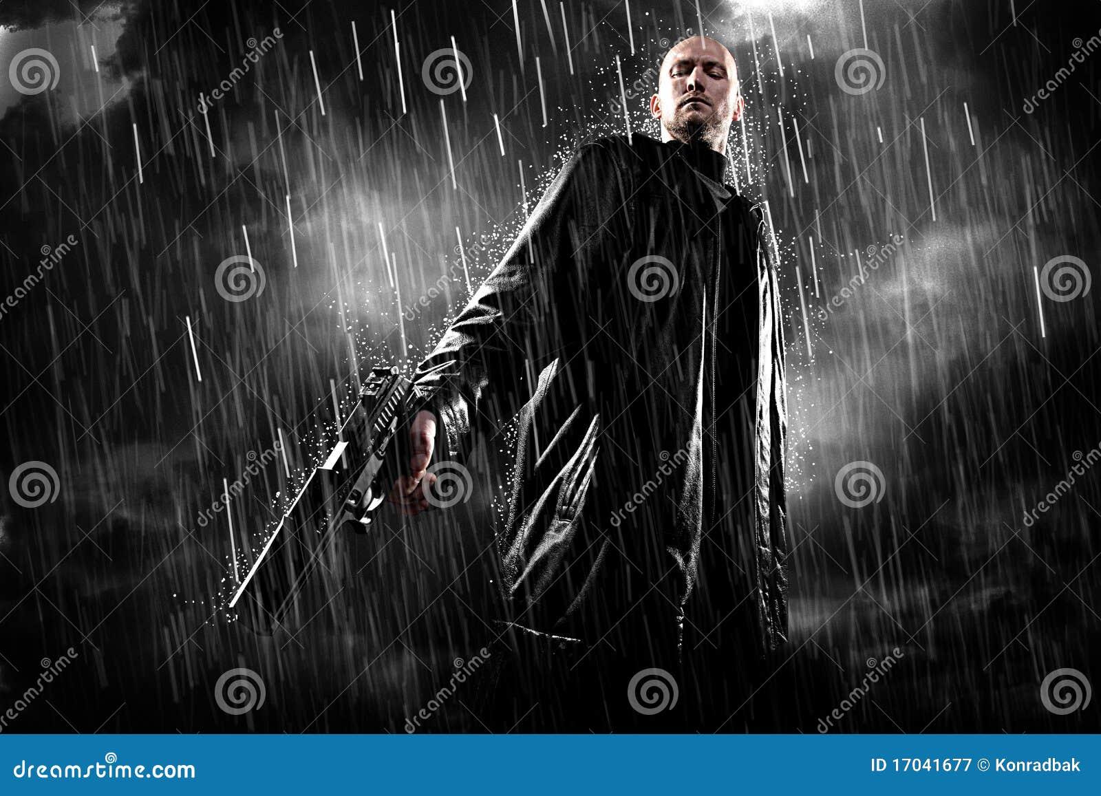 άτομο πυροβόλων όπλων