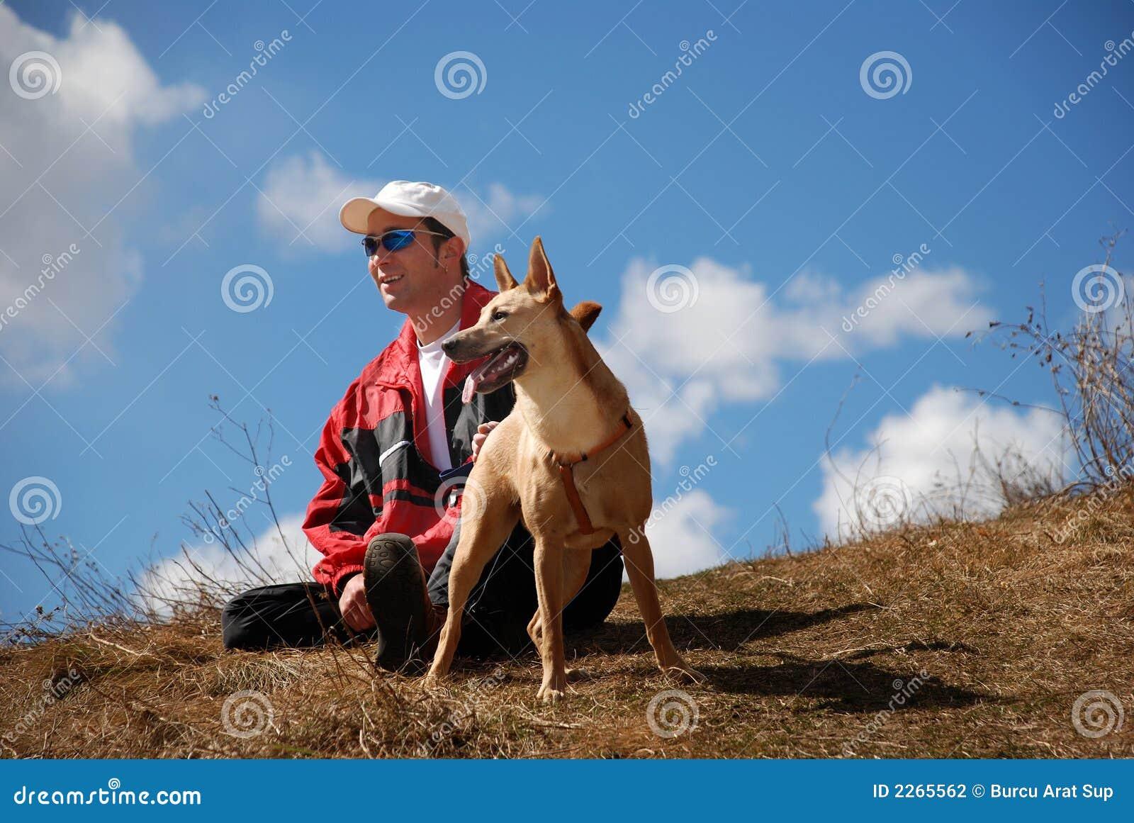 άτομο σκυλιών