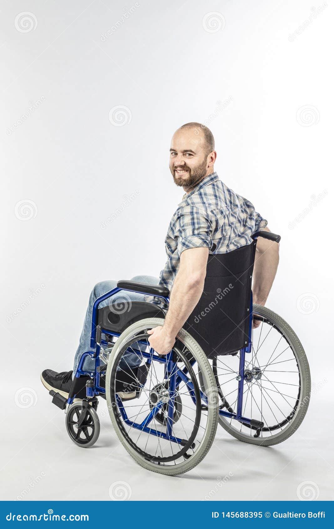 Άτομο στο wheelschair