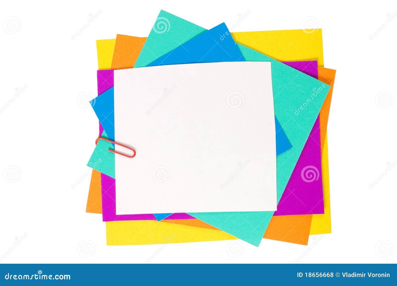έγγραφο χρώματος συνδετή&