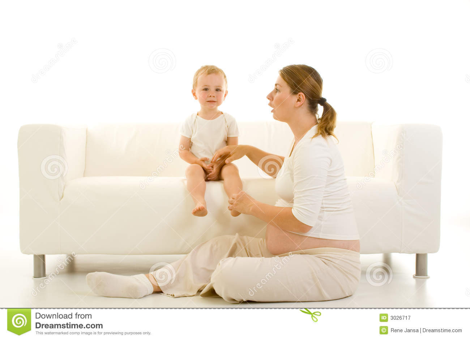 έγκυο μικρό παιδί μητέρων