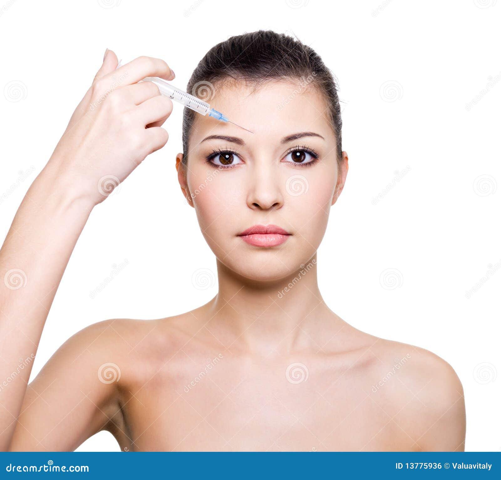 Έγχυση Botox στο μέτωπο