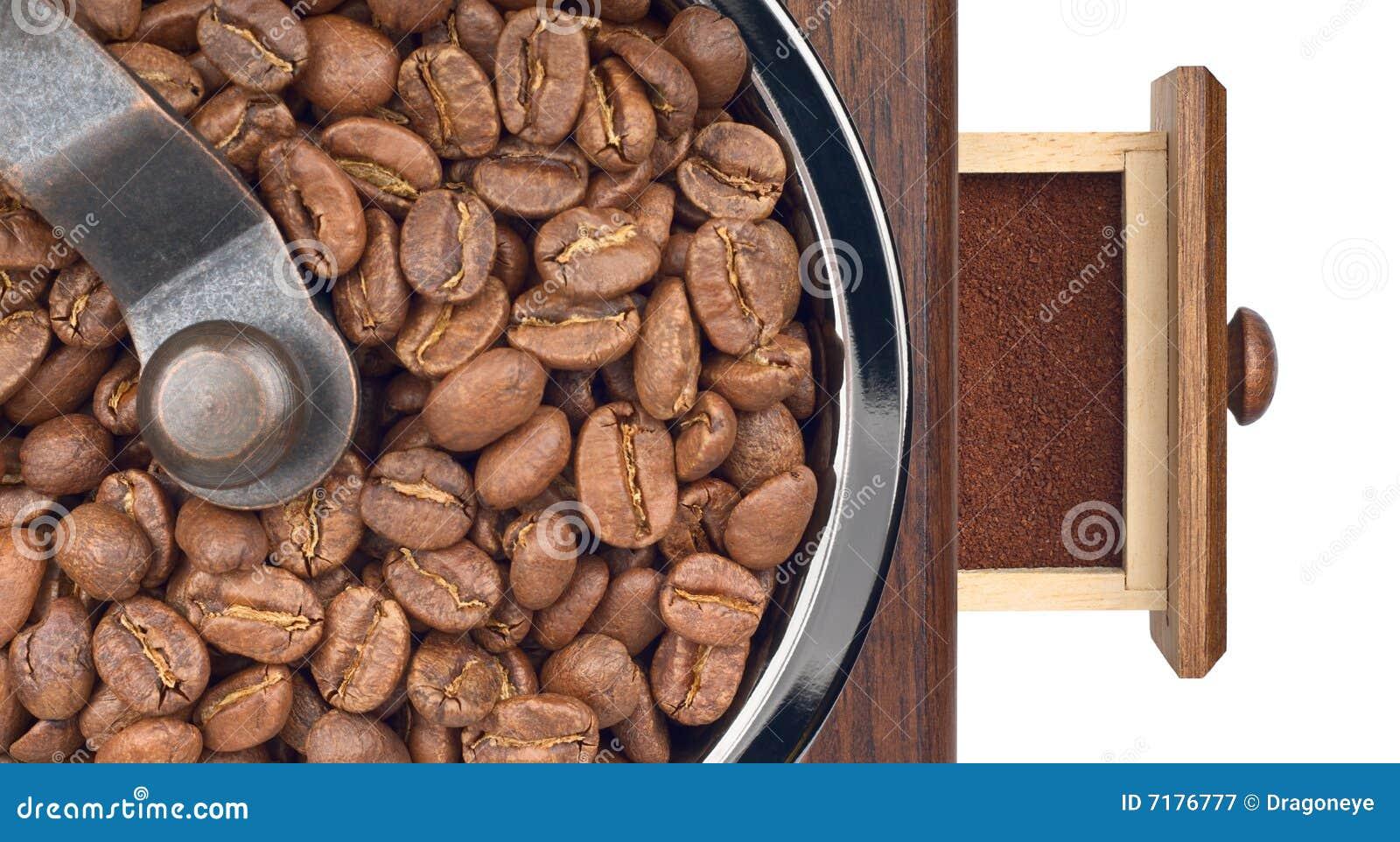 έδαφος μύλων καφέ κινηματ&omicron