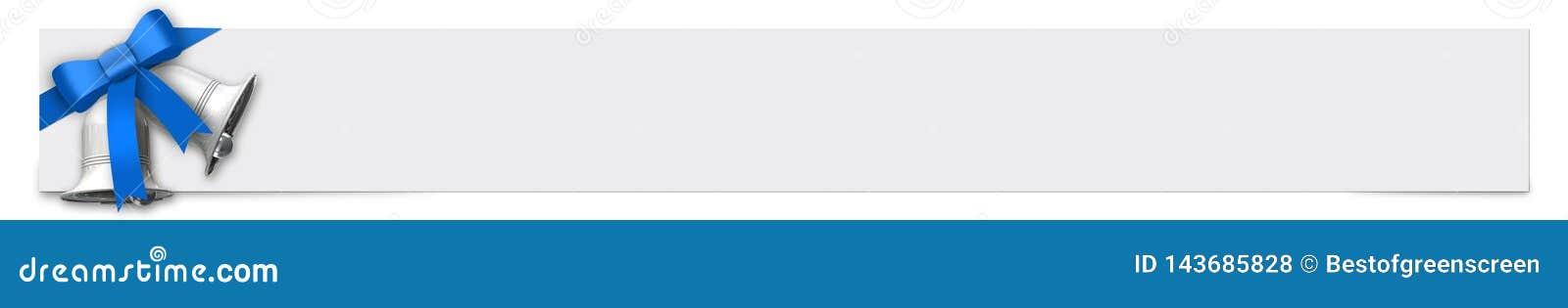 Έμβλημα με την μπλε κορδέλλα και θέση για το κείμενό σας